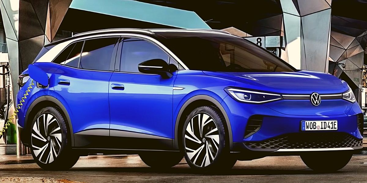 Volkswagen электромобиль Trinity