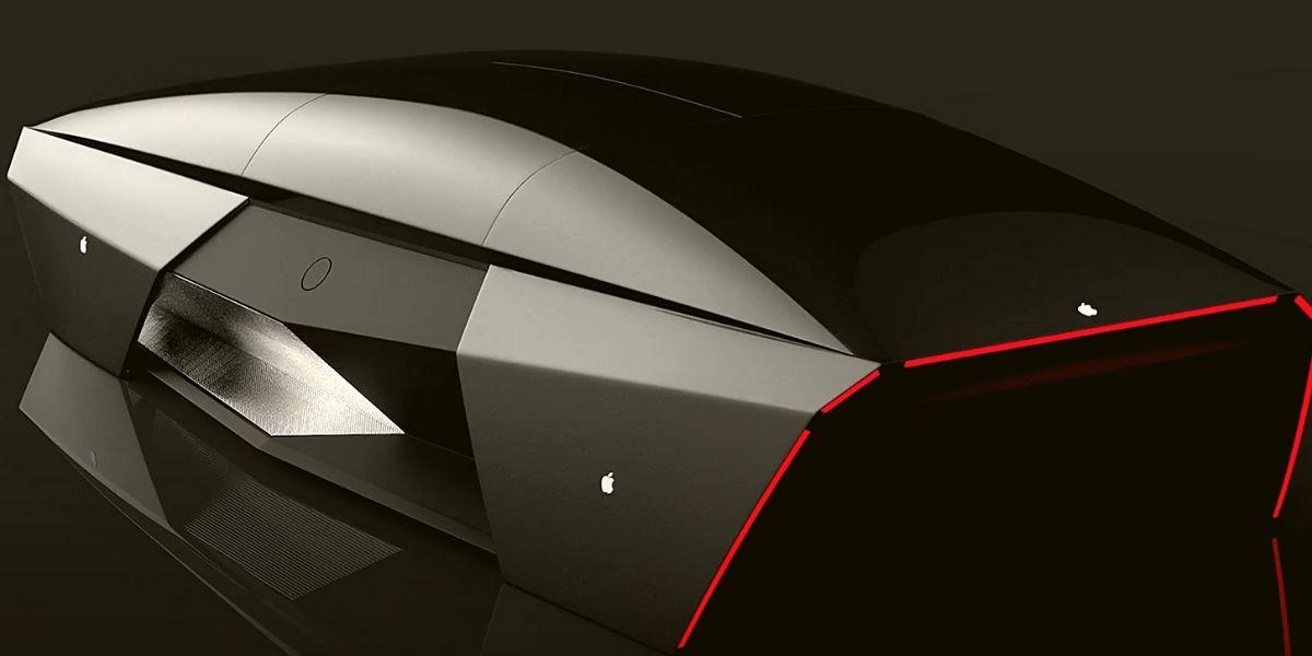 электрический автомобиль Apple 2076