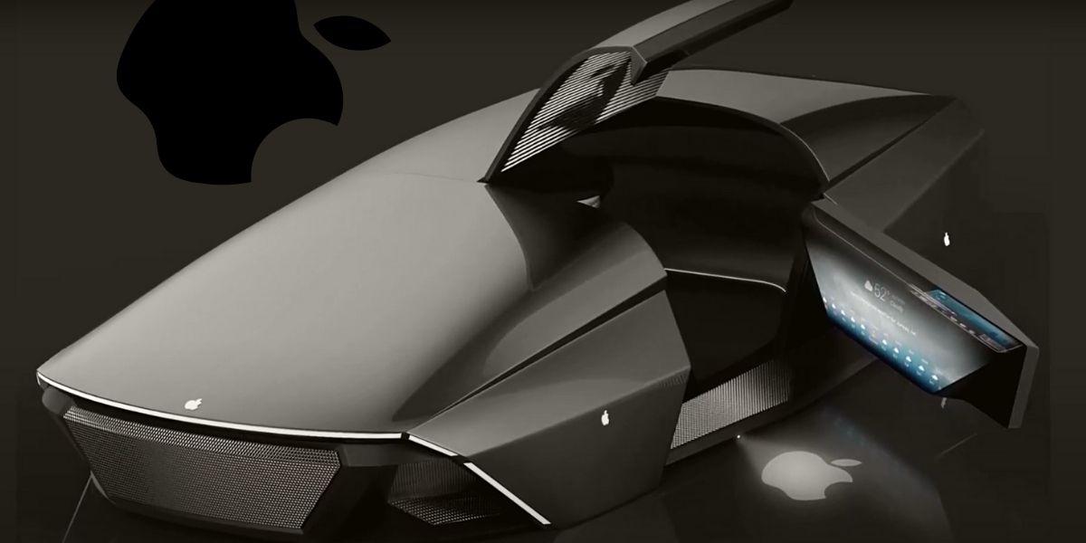 Футуристический автомобиль Apple Car 2076 от Ali Cam