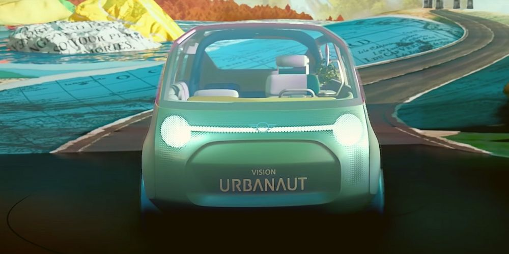электромобиль MINI Vision Urbanout