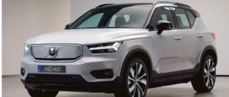 электромобиль Volvo xc40 Recharge