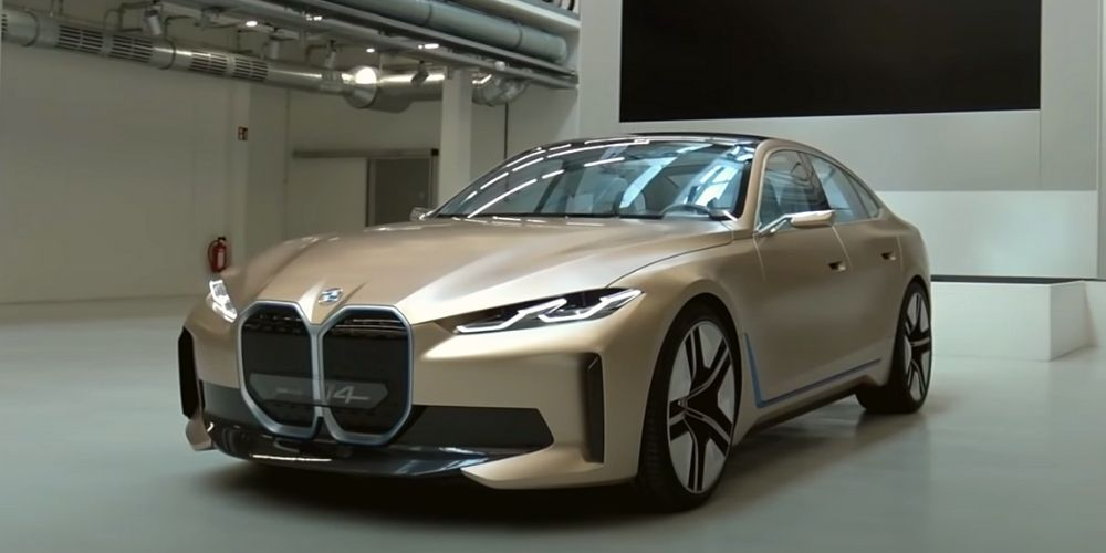 Фото обзор BMW i4