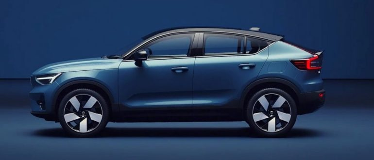 фото электромобиль Volvo C40 Recharge