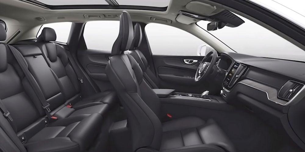 Салон Volvo XC60 T8