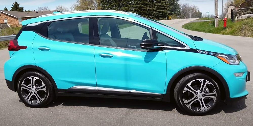 Экстерьер Chevrolet Bolt EV