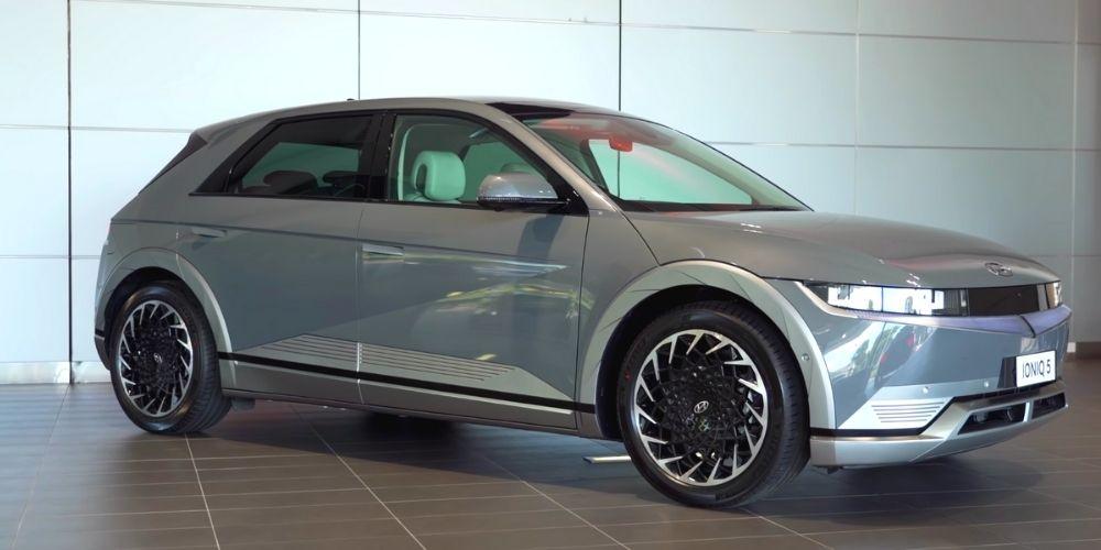 Экстерьер Hyundai Ioniq 5