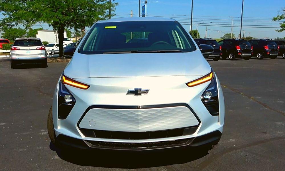 Интерьер Chevrolet Bolt EUV 2022