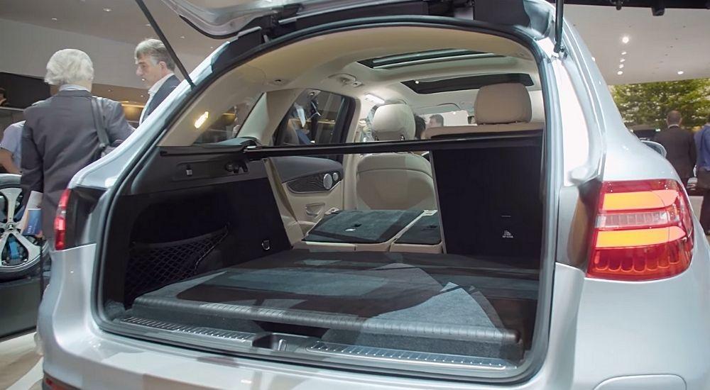 Багажник Mercedes GLC F-CELL