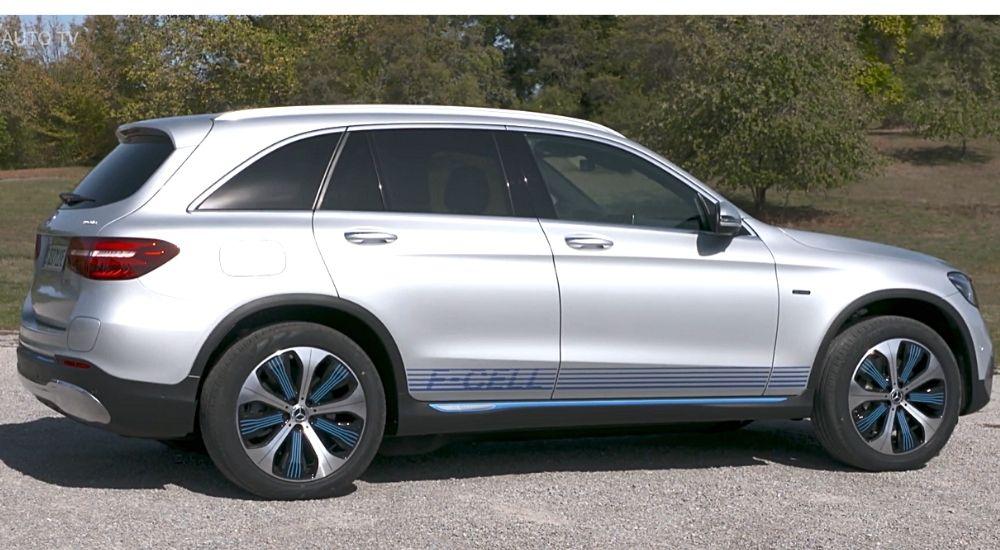 Вид сбоку Mercedes GLC F-CELL