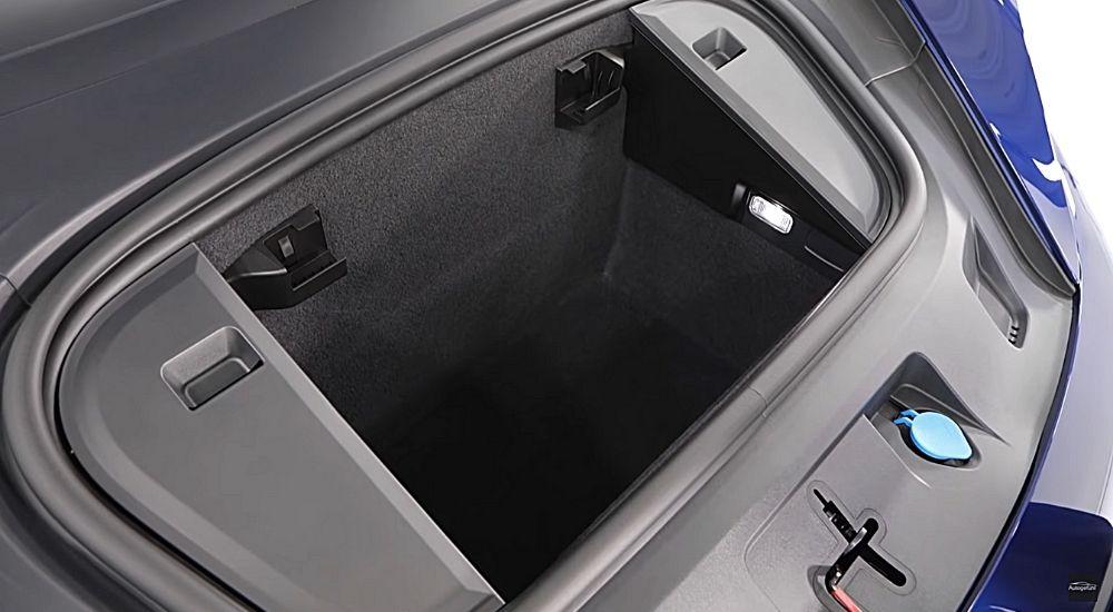 Дополнительный передний багажник Порш