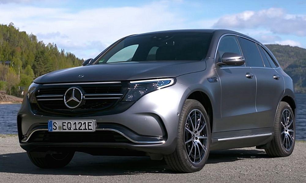 Экстерьер Mercedes EQC 400