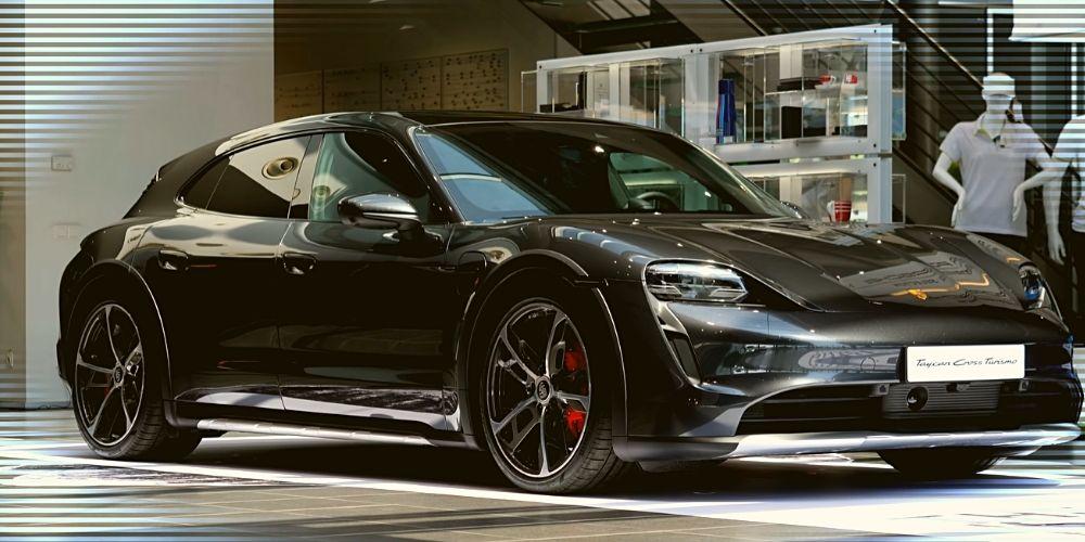 Электромобиль Porsche Taycan Cross Turismo