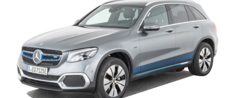 Водородный электромобиль Mercedes GLC F-CELL