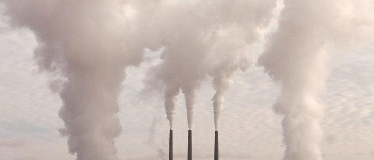 вредные выбросы CO2