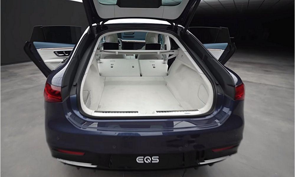 Багажник разложенный EQS мерс