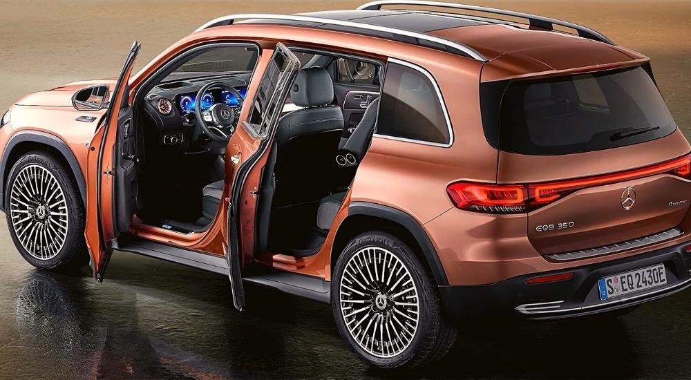 Внешний вид Mercedes EQB