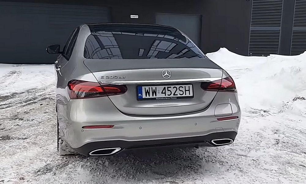 вид сзади фото Mercedes