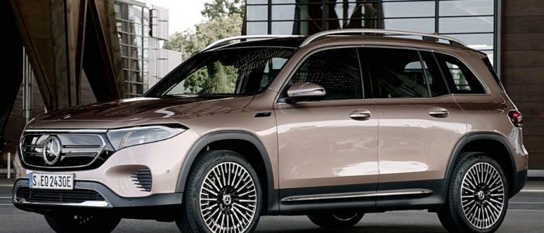 электромобиль Mercedes EQB