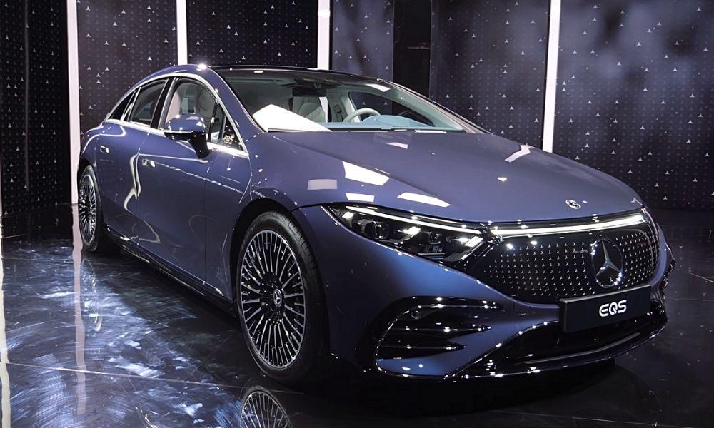 кузов Mercedes EQS фото