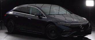 электромобиль Mercedes EQS