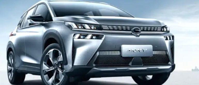 электромобиль GAC Aion V 6C